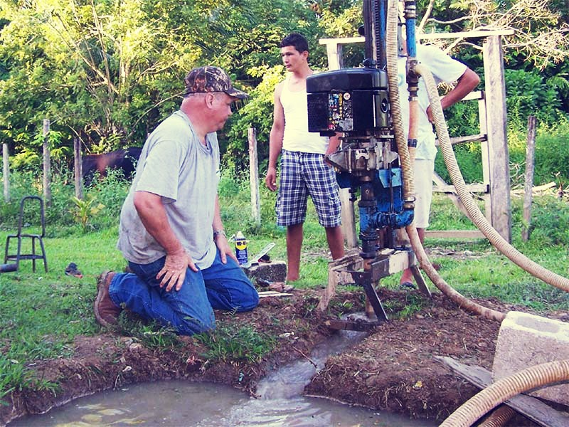 drilling-for-water